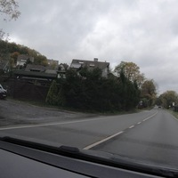 Beidseitige Kontrolle am Ortseingang Deuz, aus Salchendorf kommend.  Als Messgerät diente der ES8.0, Messfahrzeug war ein schwarzer Ford.