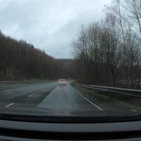 Blitzer auf der B62, zwischen Weidenau und Dreis-Tiefenbach. Hier in FR Dreis-Tiefenbach. Messgerät war ein ES8.0, Messfahrzeug ein schwarzer Ford.