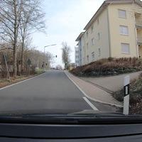Blitzer beim Seniorenheim Obere Hengsbach auf Höhe der Fußgängerampel. Hier in FR Jung-Stilling Krankenhaus. Als Messgerät diente ein ES8.0.