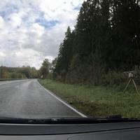 Leimbachstraße, außerorts. Hier in FR Autobahn.  Messgerät war ein ES8.0.