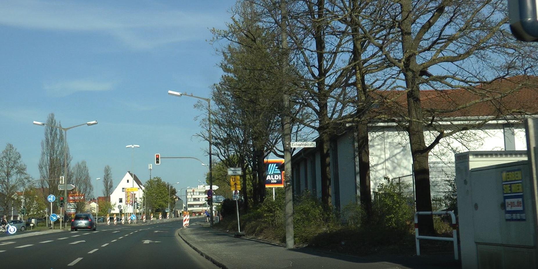 Unfall Rothenburger Straße Oberasbach
