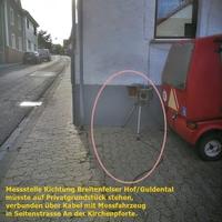 Messung Tempo 30 innerorts, im Stadtteil Winzenheim -Kirchstrasse- Richtung Stadtauswärts/Breitenfelser Hof/Guldental