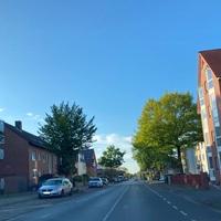 Richtung Memeler Straße