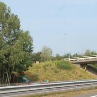 Von der Gegenfahrbahn Venlo Richtung Nijmegen