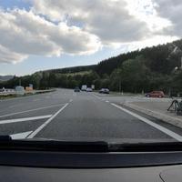 Auf der B253, FR Dillenburg. Am Abzweig Eibelshausen.