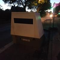 Blitzeranhänger (Enforcement Trailer) Vitronic Poliscan Speed
