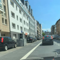 Gladbacher Str., 50672 Köln. Gegenüber Hausnummer 19. Semistation K-LN 3110,  seit 10.07. durchgehend aktiv.