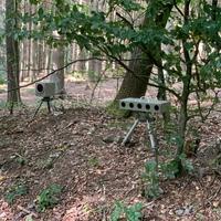 Ergänzung zu dieser Messstelle, da die Geräte inzwischen auch gerne weiter unten im Wald aufgestellt werden.