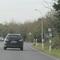 Anfahrt von der B9 Aldekerk-Rahm.Meßstrecke mit Läserpistole.50Km/h