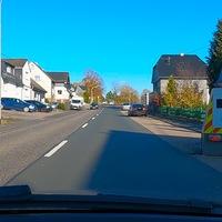 B414 in Kirburg, FR Hof. Zwischen 22 und 6 Uhr 30 erlaubt, sonst 50.