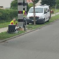"30 km/h beidseitig. Oestrich-Winkel, Winkel; Greiffenclaustraße. Position: 50°00'10.8""N 8°00'27.8""E"