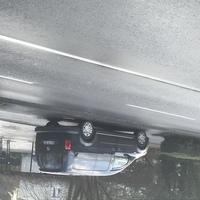 Schwarzer Caddy der Stadt Leverkusen. Gemessen wurde Richtung Schlebusch