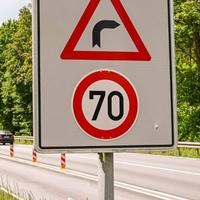 Die Höchstgeschwindigkeit wurde im Juni 2021 auf 70 Kilometer erhöht.
